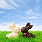 Happy Easter Couple Stock Photo