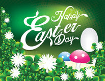 Happy Easter Day Background Royalty Free Stock Photography