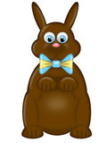 Happy Easter Day Chocolate Bunny Rabbit Royalty Free Stock Photo
