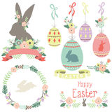 Happy Easter day Collections Stock Photo