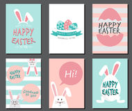 Happy easter day Stock Images