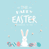 Happy easter day Royalty Free Stock Photography