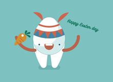 Happy Easter Day of dental Stock Photography