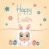 Happy easter day Stock Photography