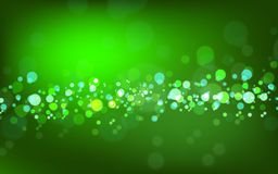 Happy Easter Day.summer abstract blurred green background with bokeh effect. Spring, nature, overcast. Vector EPS 10 illustration. royalty free illustration
