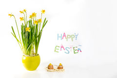 Happy Easter decoration Stock Images