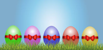 Happy Easter Decoration Vector Royalty Free Stock Photo
