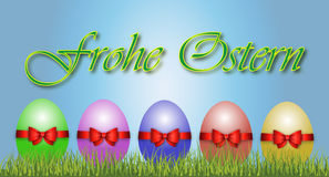 Happy Easter Decoration Vector Royalty Free Stock Images