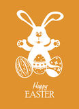 Happy easter design Stock Images