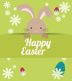 Happy Easter design Royalty Free Stock Photos