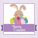 Happy Easter design Royalty Free Stock Photo