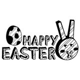 Happy Easter Design Element Royalty Free Stock Images