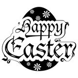 Happy Easter Design Element Royalty Free Stock Photo