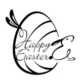 Happy Easter Design Element Royalty Free Stock Image