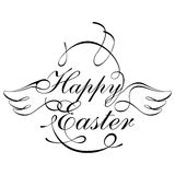 Happy Easter Design Element Stock Image
