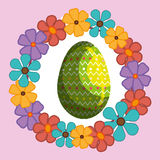 Happy easter design Royalty Free Stock Image
