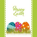 Happy easter design Stock Image