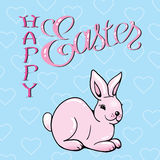 Happy Easter. Easter Bunny Ears. Vector Royalty Free Stock Photography