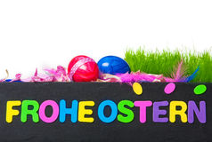 Happy Easter, Easter decoration Stock Photo
