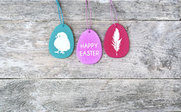 Happy easter. Easter egs. Stock Image