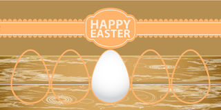 Happy easter egg background Royalty Free Stock Photo