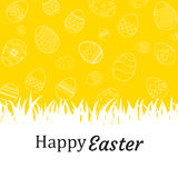 Happy easter egg background and wallpapers.Can be used for wall Stock Photo