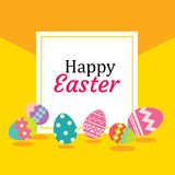 Happy easter egg background and wallpapers.Can be used  Royalty Free Stock Photos