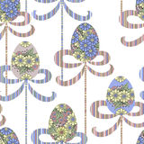 Happy Easter egg greeting card texture design Stock Photo