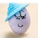 Happy Easter egg Stock Photography