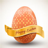 Happy easter egg icon Stock Photography