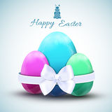 Happy easter egg icons set Royalty Free Stock Image