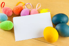 Happy easter. Easter egg season nature april Stock Image