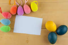 Happy easter. Easter egg season nature april Stock Images