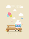 Happy easter egg, Vector Illustration vector illustration