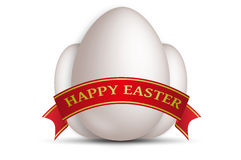 Happy easter eggs Stock Image