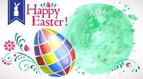 Happy Easter! (+EPS 10) Royalty Free Stock Photo