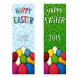 Happy Easter flyer Stock Photography