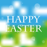 Happy easter fresh spring abstract background Stock Photography
