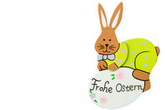 Happy easter - Frohe Ostern Stock Photos
