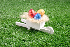 Happy Easter Garden royalty free stock images