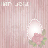 Happy Easter gift card Stock Images