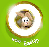 Happy Easter Golden Feeling Royalty Free Stock Photos