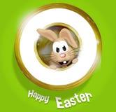 Happy Easter Golden Feeling Royalty Free Stock Photos