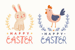 Happy Easter graphic Royalty Free Stock Image