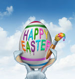 Happy Easter Greeting Stock Photo