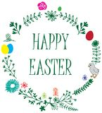 Happy Easter - greeting card Royalty Free Stock Photography