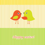 Happy easter greeting card Royalty Free Stock Images