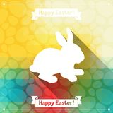 Happy Easter greeting card background Royalty Free Stock Images