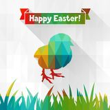 Happy Easter greeting card background Stock Photography