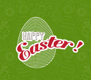 Happy Easter greeting card background Royalty Free Stock Photo